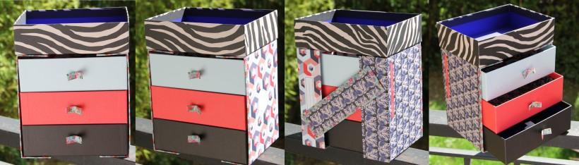 Birchbox & Hema commode de box