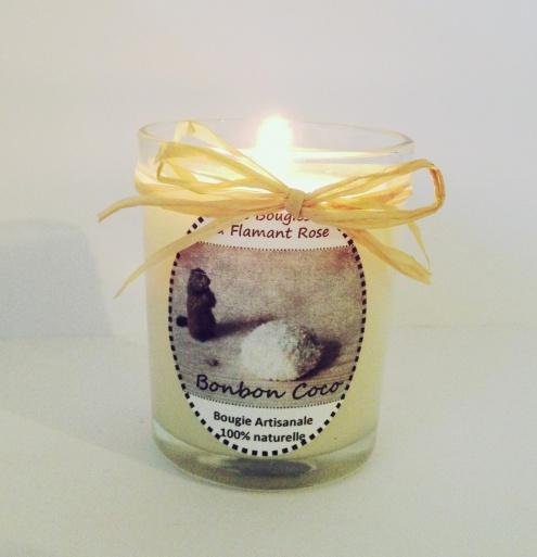Les Bougies du Flamant Rose