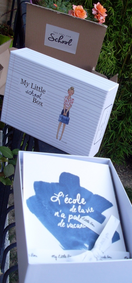 ˜My Little School Box€