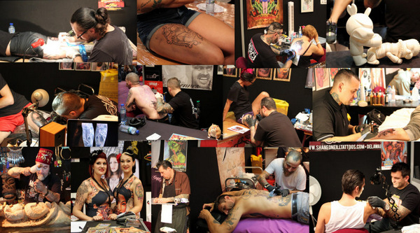 Convention Cézanne Tattoo Ink 2014