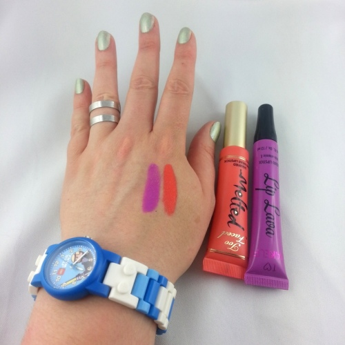 Lip Lava Makeup Revolution vs Melted de Too Faced