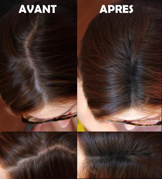 byebye racines_avant aprs - Coloration Cheveux Blancs Sans Ammoniaque